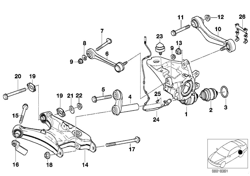 medium resolution of 540i rear suspension diagram schematic diagram database 540i rear suspension diagram