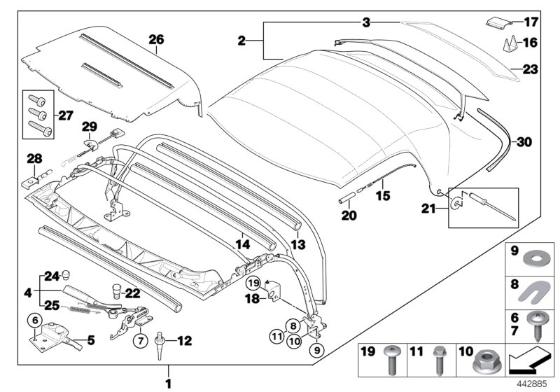 Bmw Z3 Parts Diagrams • Wiring Diagram For Free