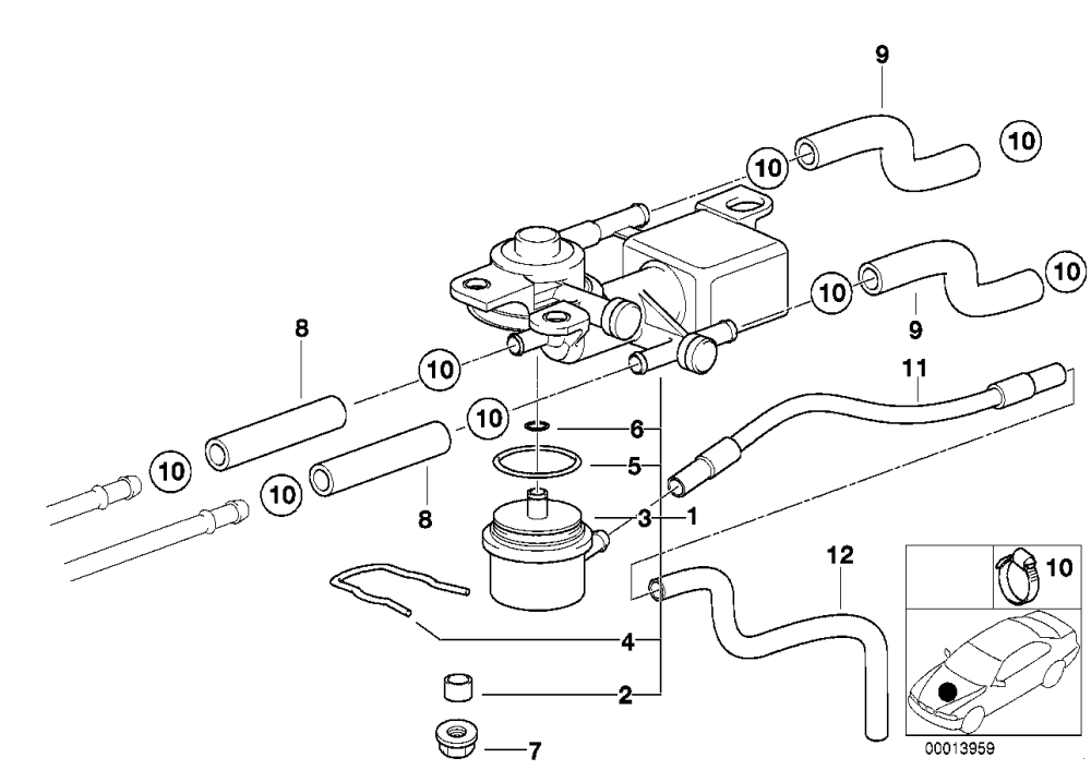 medium resolution of 3 2 way valve and fuel hoses