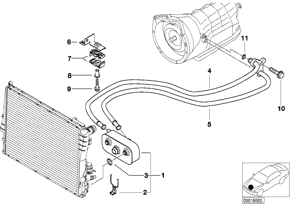 medium resolution of oil cooling automatic gearbox a5s325z