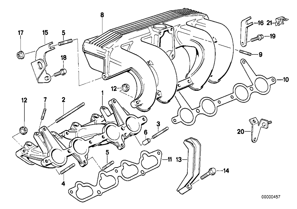 medium resolution of intake manifold system