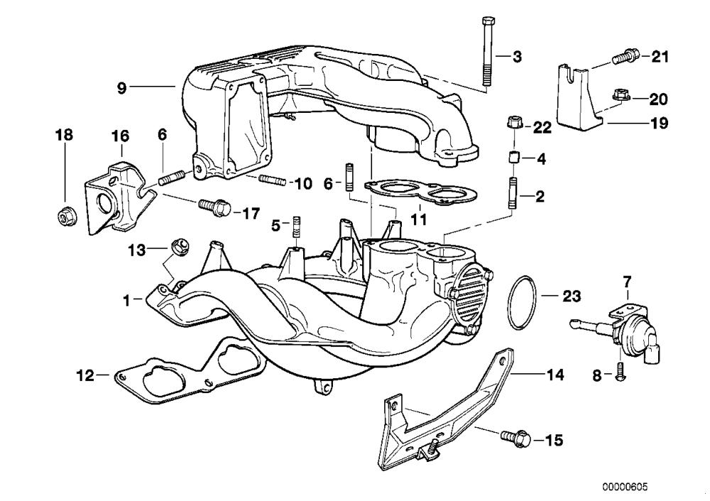 medium resolution of intake manifold system