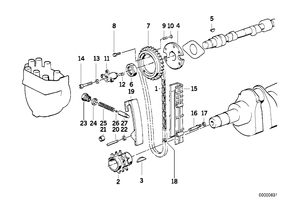 medium resolution of timing and valve train timing chain