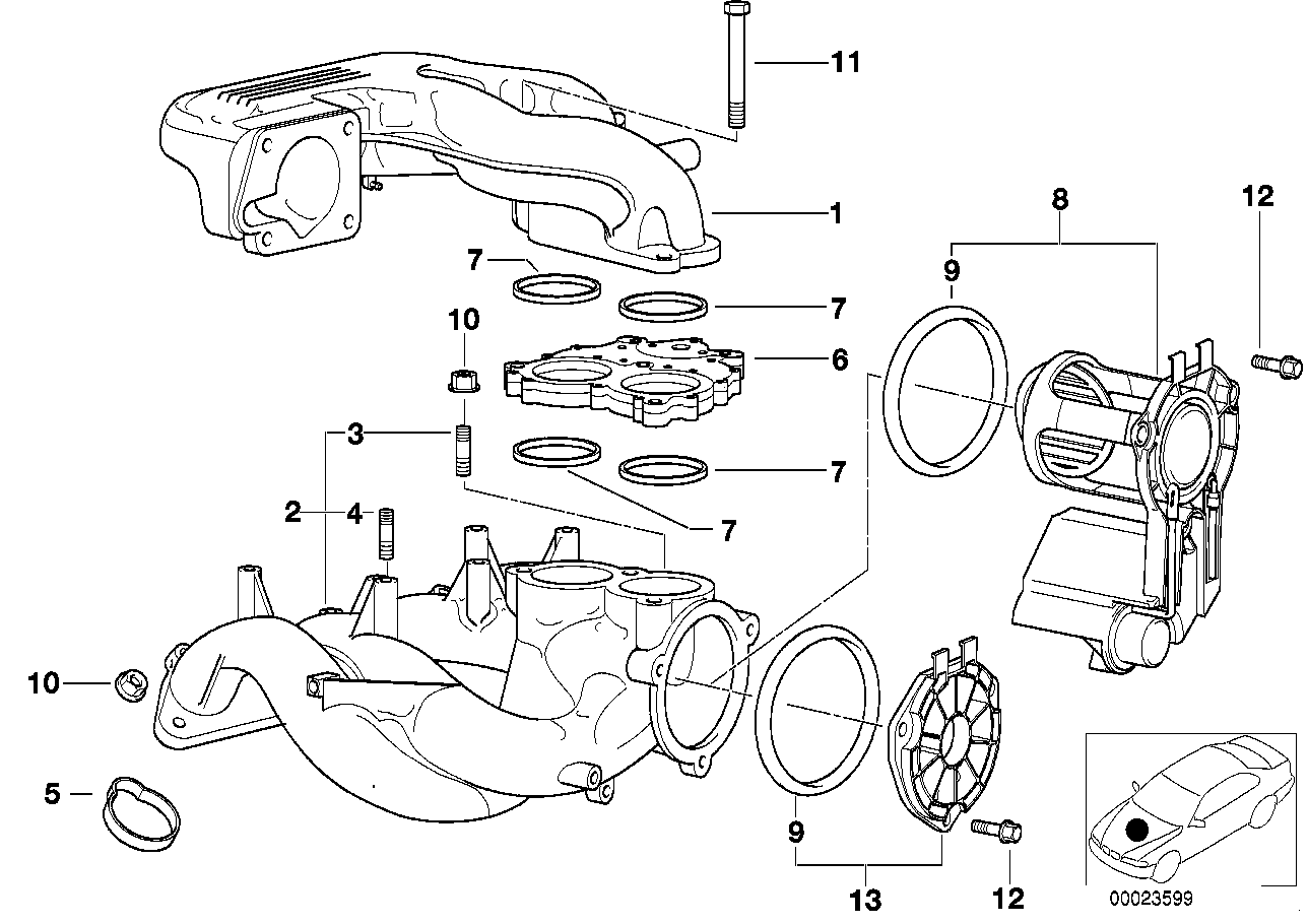 hight resolution of intake manifold system