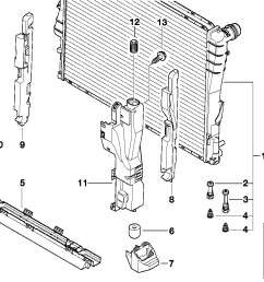 bmw e46 cooling system diagram wiring diagram for you bmw 328i parts diagram 1999 bmw radiator diagram [ 1288 x 910 Pixel ]