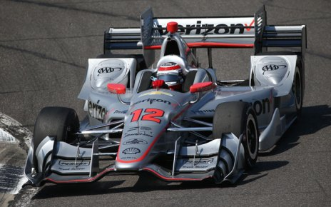 Will Power navigates the Turn 8-9 Esses during the open test at Barber Motorsports Park