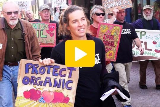 Keep the Soil in Organic Rallies Video