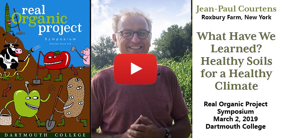 Jean-Paul Courtens Video Thumbnail: Healthy Soils for Healthy Climate