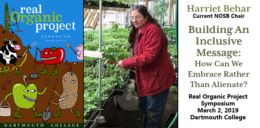 Harriet Behar in her greenhouse