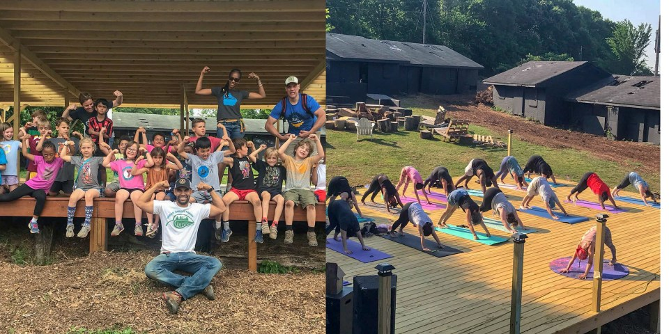 School groups and yoga classes at Urban Sprout Farms Atlanta