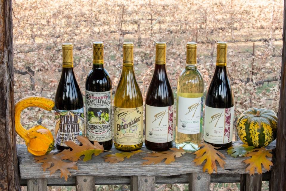 Organic and biodynamic wines