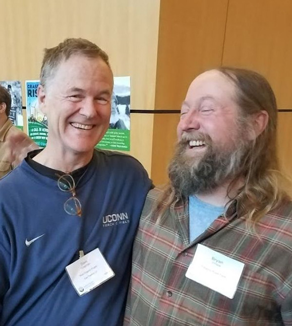 Dave and Bryan at the Soil & Nutrition Conference last November.