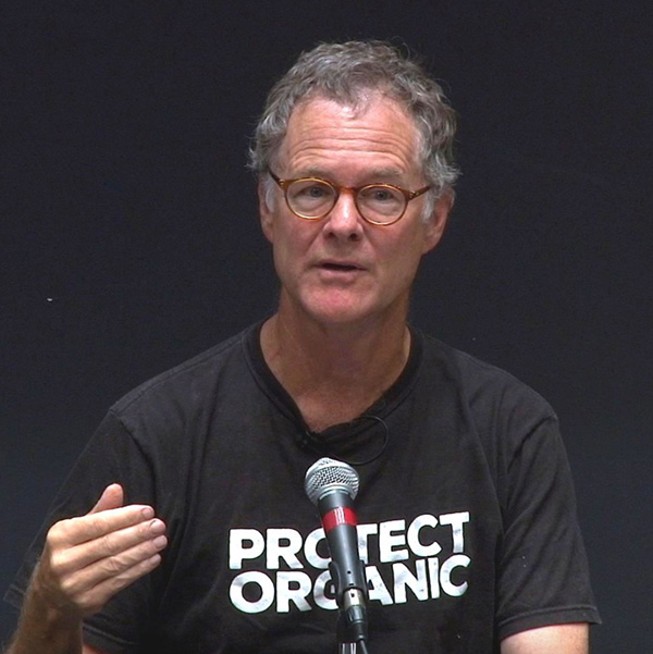 dave chapman executive director of real organic project