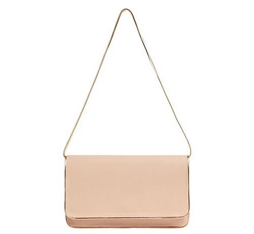 Nina Leather Clutch Bag