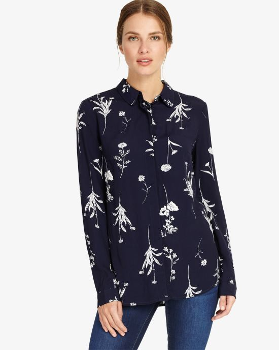 Sarah Sprig Print Shirt
