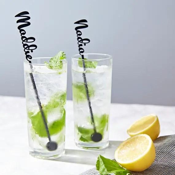 Personalised Drink Stirrers