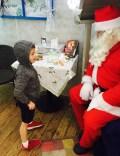 Chatting to Santa