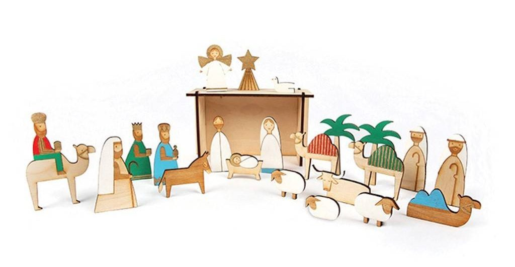 Personalised Nativity Advent Calendar