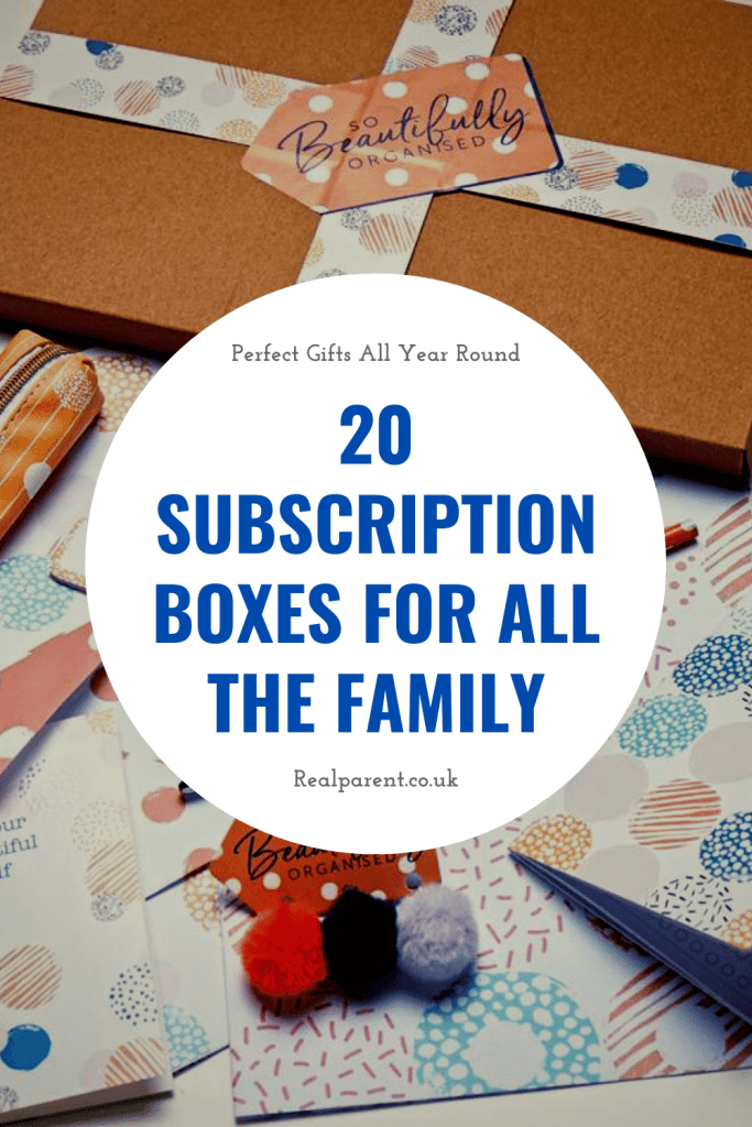 20 subscription boxes for all the family