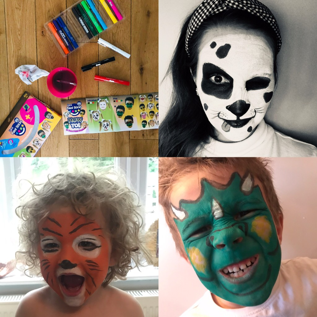 Little Brian Paint Sticks - Easy Face Paint Designs