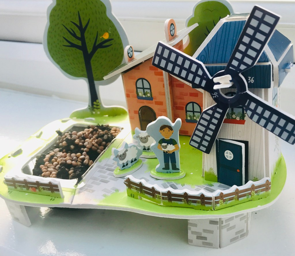 Milly & Flynn Windmill Puzzle Kit