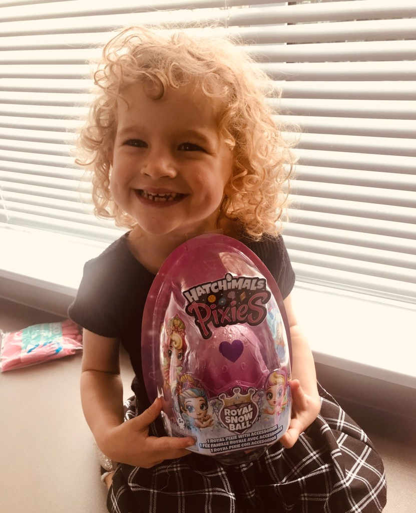 Hatchimals Pixies Royal Snow Ball Review