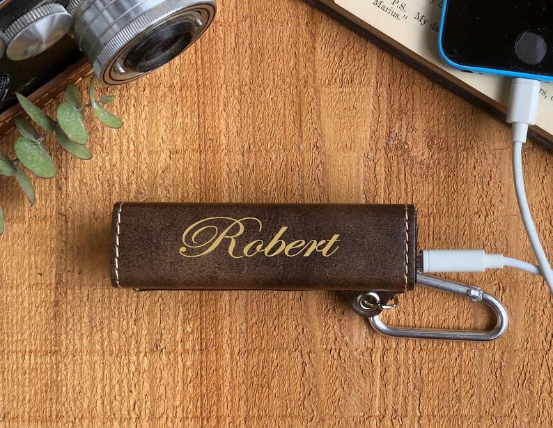 Personalised Portable Charger - brilliant Valentine's gift ideas