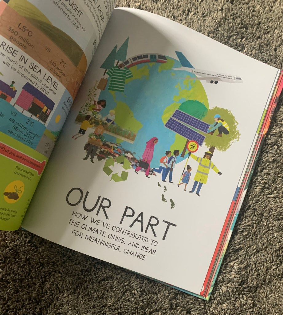 Climate Action Book 'Our Part' pages
