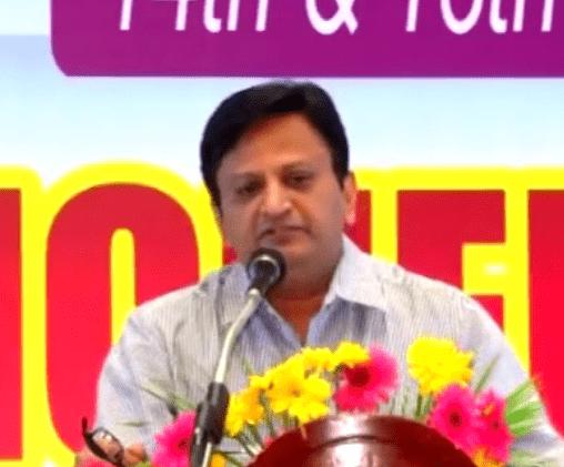 Chandrakantbhai at Pondicherry Sabha