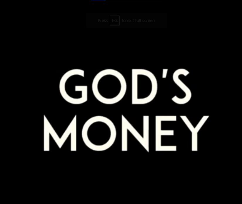 Dasond – God's Money