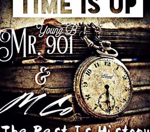 Time Is Up (The Rest Is History) cover