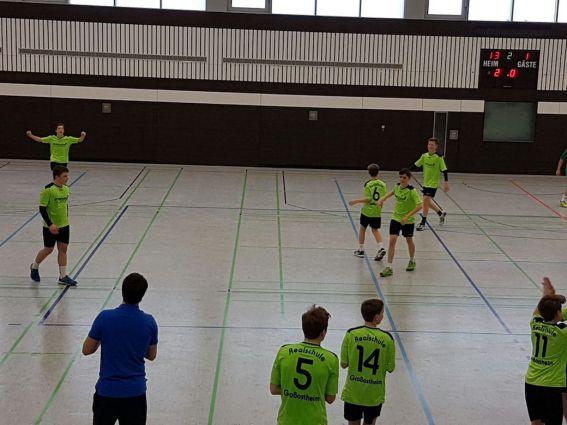 2016 2017 Handball Bezirksfinale Jungen 3 6
