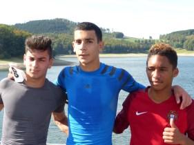 Die Sieger des 7km-Laufes