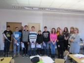 Sprecher der Klasse 9b