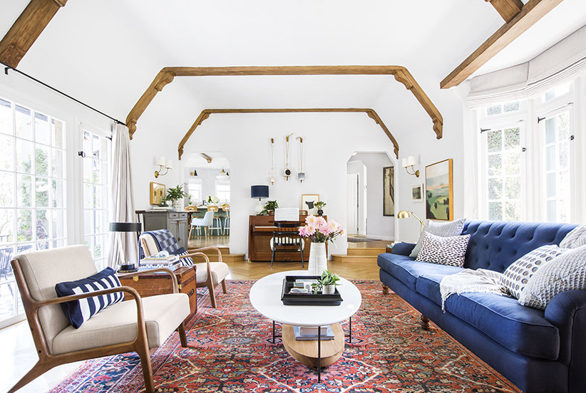 Tour Emily Hendersons New Los Angeles House  Real Simple