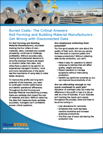 The Critical Answers Roll Forming and Building Material Manufacturers Get Wrong with Disconnected Data