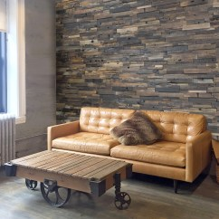Wood Wall Living Room Value City Sets Realstone Systems Panels Decorative Reclaimed Backdrop