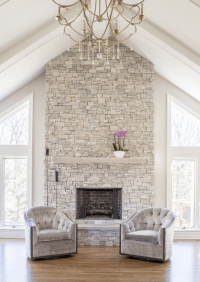 11 Stone Veneer Fireplace Design Trends
