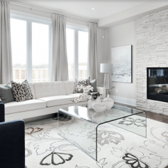 Living Room Fireplace And Tv Interior Design Black Chair Covers 11 Stone Veneer Surround Trends & Where ...
