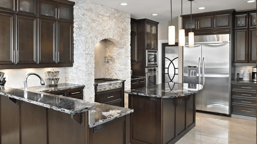 stacked stone kitchen backsplash custom outdoor kitchens 7 ways to use create a design three dimensional 1