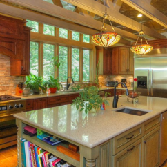 Stacked Stone Kitchen Backsplash Equipment Rental 6 Realstone Systems