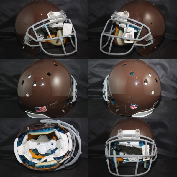 95f50e3e Real Stuff Sports Game Used Football Helmets - Year of Clean Water