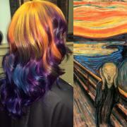 hair colourist creates stunning