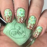ice cream nails sweet