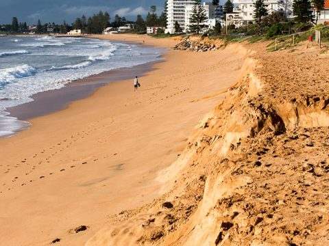 South Narrabeen erosion
