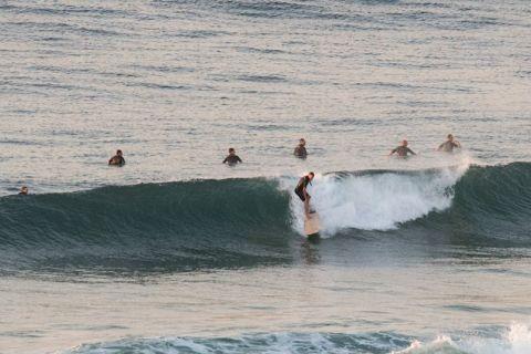 long reef surfers