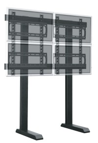 Video Wall Floor Stand, Wall Mount + Work Station Bracket ...