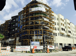 Cosmo street view under construction 7.13.15