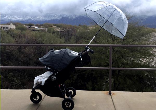hands-free-umbrella-stroller