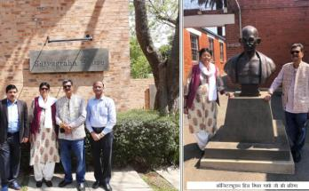 Chhattisgarh, speaker of the Assembly, Dr. Charan Das Mahant, Johannesburg, Satyagraha House, Gandhi Sadan,